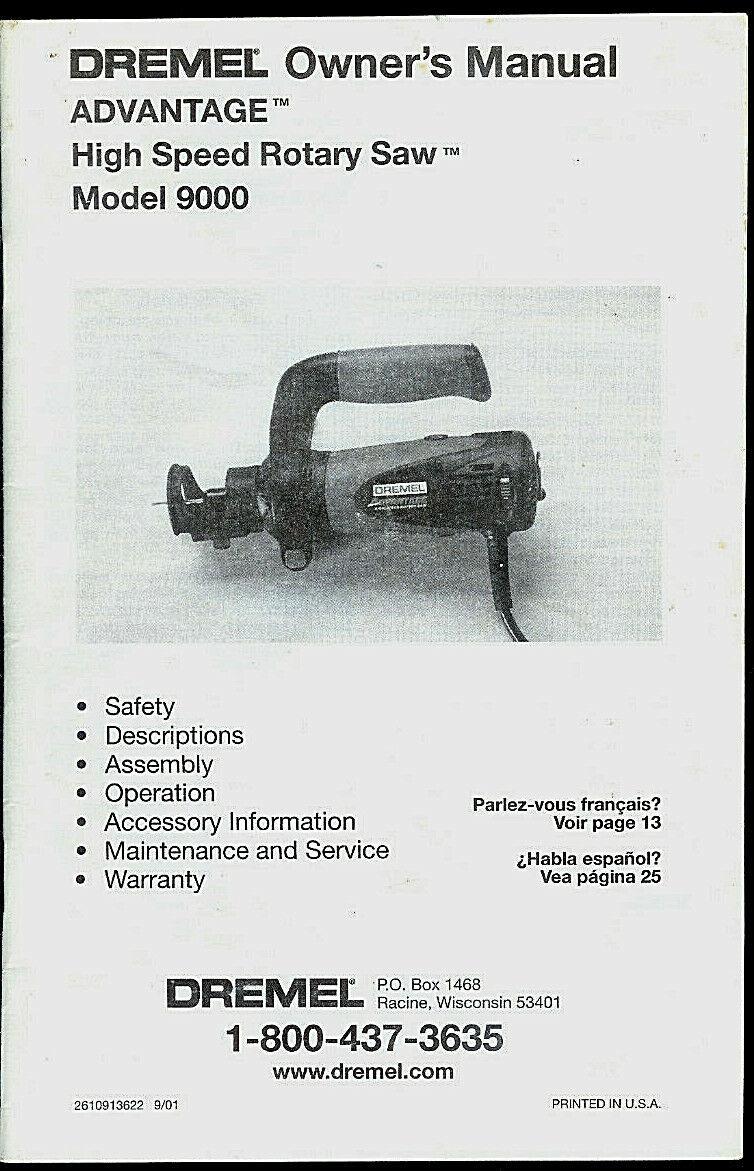 "Craftsman 16 /"" Scroll Saw Manual Model # 113.236090"