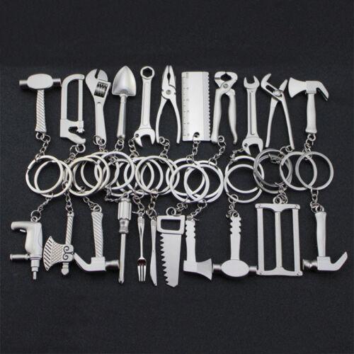 Creative Gadget Keyring Metal Pendant Key Chain Silver Keyfob Craft Gift New