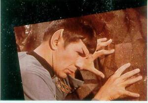 Star-Trek-Post-Card-P167-Mr-Spock-USA-1985