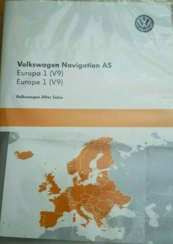 Volkswagen navegación as SD Card Europa 1 v9 discover media 2 Touran jetta VW CC