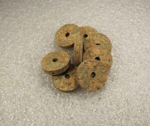 """Cork Ring, Vert Burl, 1/4"""" X 1.25 X 1/4 (4) Pcs-afficher Le Titre D'origine"""