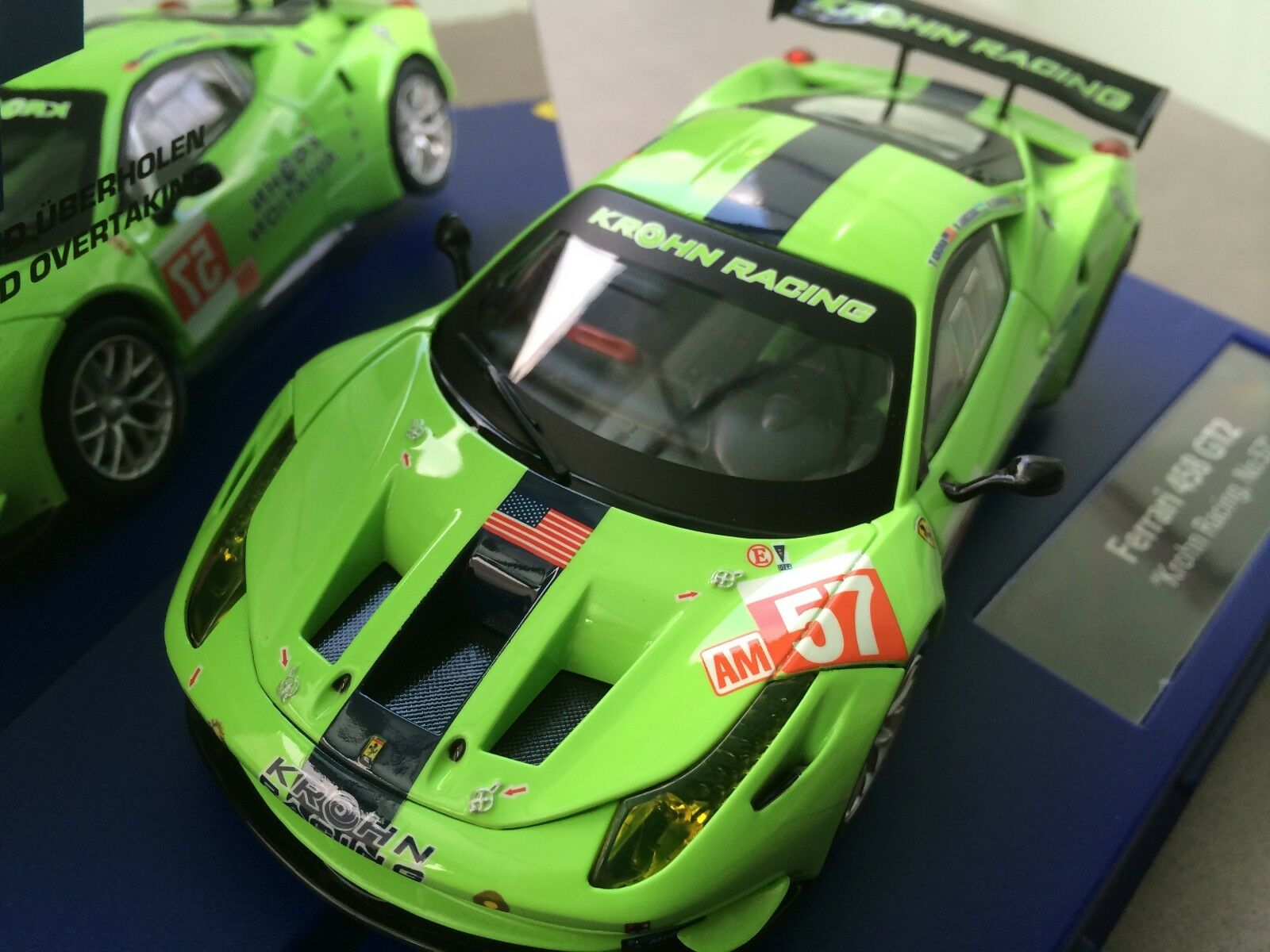 Carrera Digital 132 30678 Ferrari 458 GT2   Krohn Racing,Nr. 57   Nuovo Conf.