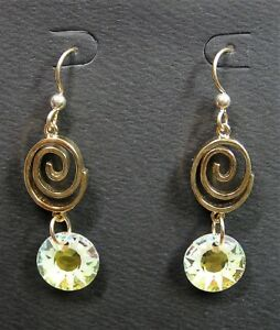 Handmade-Swarovski-Crystal-Gold-Charms-Earrings-With-Gold-Filled-Earwires-13