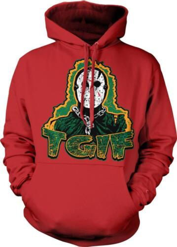 TGIF Thank God It/'s Friday Jason Horror Scary Terror Weekend Hoodie Pullover