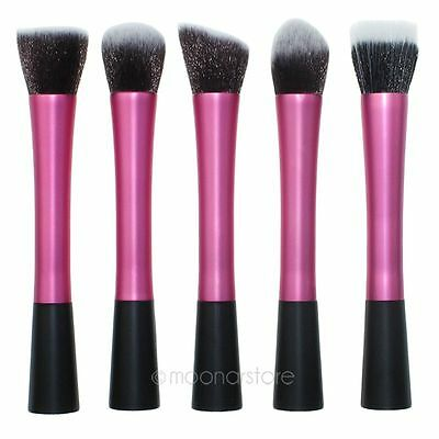 Pro New Powder Blush Brush Cosmetic Stipple Fiber Foundation Brushes Makeup Tool