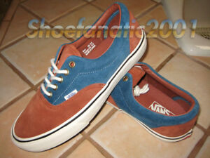vans bleu marron