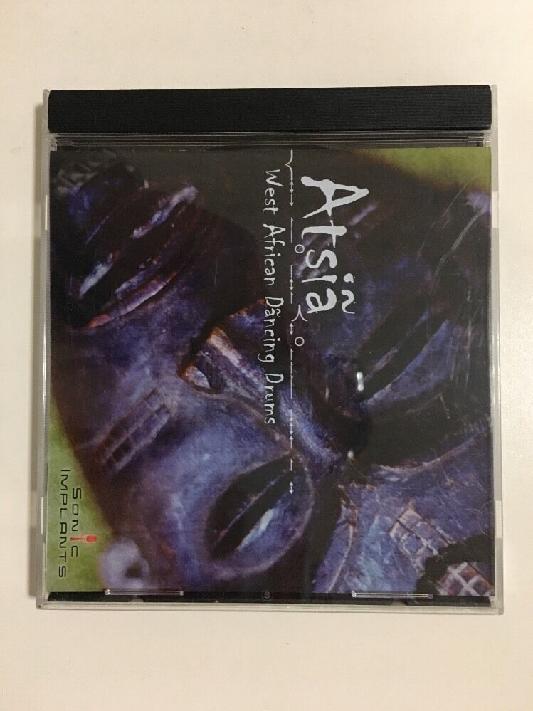 SONiVOX Sample CD  Atsia - West African Dancing Drums (GigaStudio2)