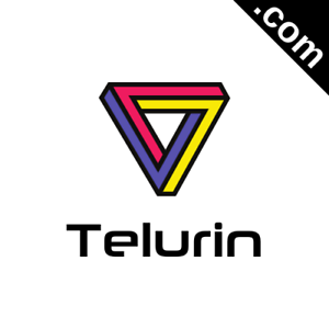 TELURIN-com-Catchy-Short-Website-Name-Brandable-Premium-Domain-Name-for-Sale