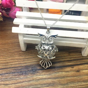 NEW-Perfume-Fragrance-Essential-Oil-Aromatherapy-Diffuser-Locket-Necklace-ZXL83