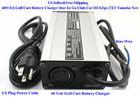 New 48 Volt Golf Cart Battery Charger 6A Star Ez Go Club Car DS EZgo TXT Yamaha