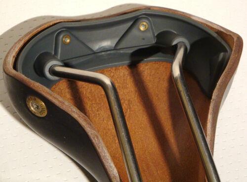 NEW GILLES BERTHOUD SADDLE SEAT SOULOR BLACK MADE IN FRANCE IDEALE BROOKS