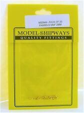 Model Shipways Fittings MS 0949 Parrels 5/64 2mm 20 Per Pack. NEW