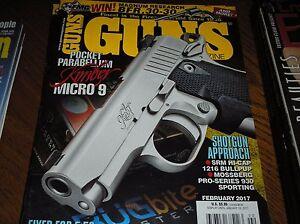GUNS-magazine-february-2017-Kimber-micro-9-sig-M400-Predator-J-13