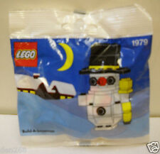 #4478 New in package Vintage 1991 LEGO Build A Snowman Model #1979