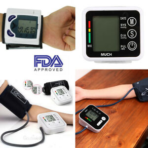 Details about Automatic Digital Arm Blood Pressure Monitor BP Cuff Machine  Home Test Device