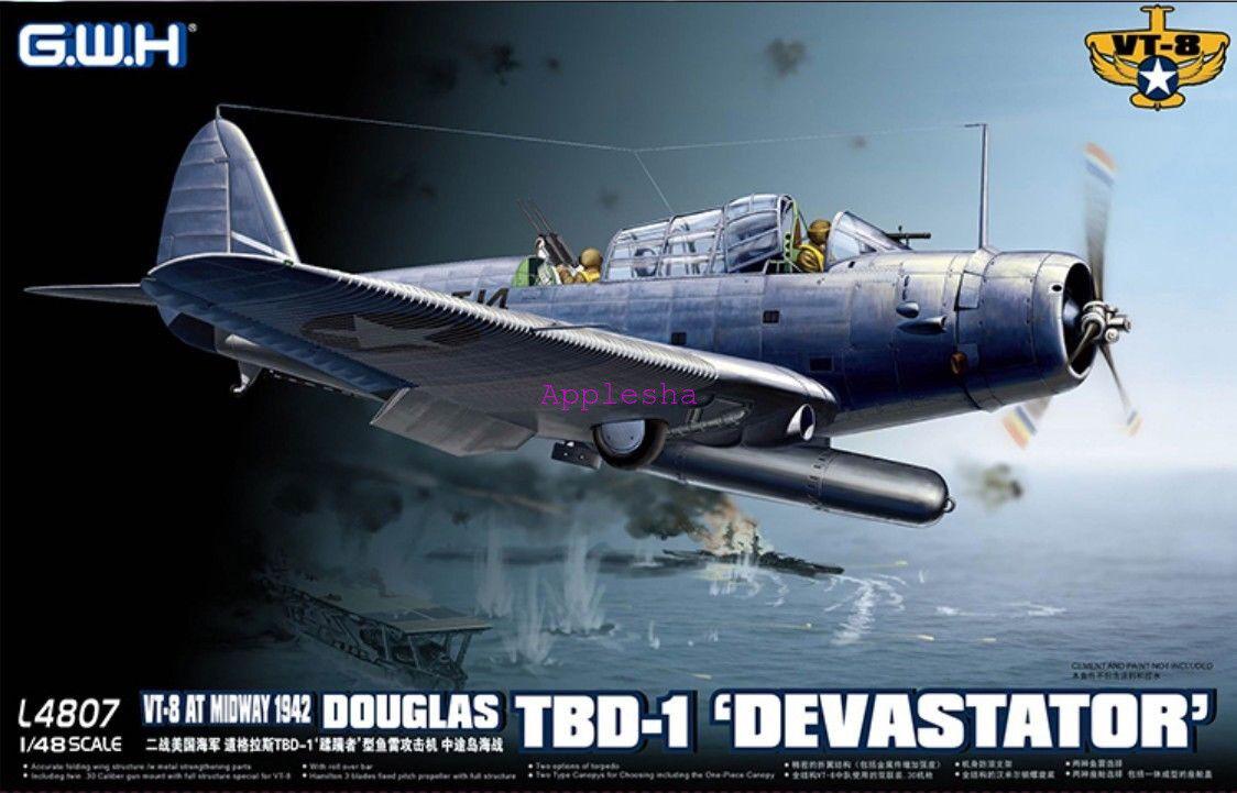 GreatWall 1 48 L4807 Douglas TBD-1 Devastator Top quality