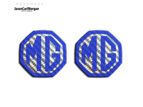MG MGF MK1 LE500 Style Badge Inserts Front Rear Fits 59mm Emblem Badges