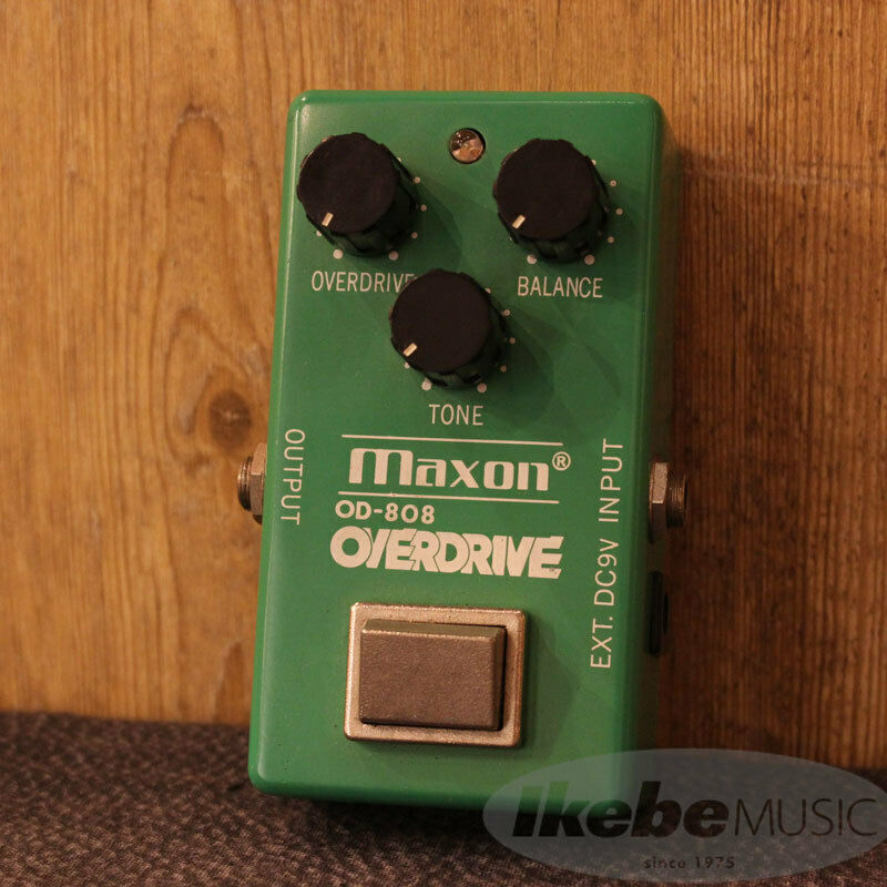 Maxon OD-808 OVERDRIVE Small Box Effects Pedal