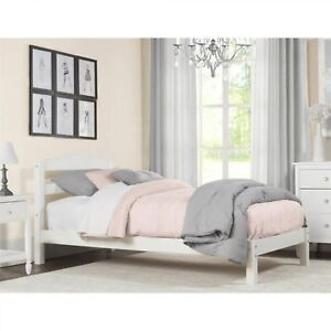 Kids Twin Bed Minimalist Child Bedroom Furniture Wood