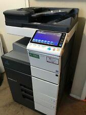 Konica Minolta Bizhub C454 Laser Color Bw Printer Scanner Copier 45ppm A3 Mfp