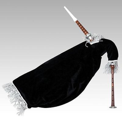 Scottish Gans Dudelsack Schwarze Farbe Imattion Elfenbein Halterungen Üben
