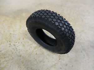 1 New 4.10-6 Rubber Master Lawn /& Garden Tractor Stud Tire 4 Ply FREE Shipping