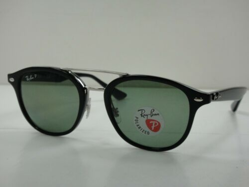 7eed48edc6 2 of 4 Ray-Ban Polarized Sunglasses Rb2183 901 9A Black Frame green Classic  Lens 53Mm