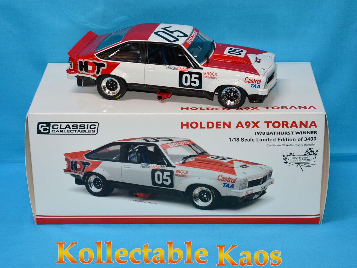 1:18 Classics-Ganador Bathurst 2018-Holden LX Torana A9X-BrockRichards