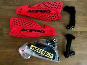 ACERBIS X ULTIMATE HAND GUARD MX MOTOCROSS ENDURO UNIVERSAL FITTING WHITE BLACK