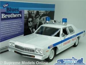 Dodge Monaco Modèle Police Car 1:24 Échelle Les Blues Brothers Grand Greenlight K8 7437126417420