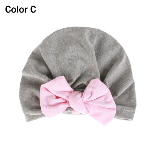 Toddler Kids Boy Girl Beanies Bowknot Turban Hat Warm Caps Cute Baby Hat