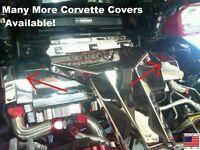 Corvette C4 1994 Lt1 Polished 6 Pc Radiator Shroud End Cap Cover Engine Chrome