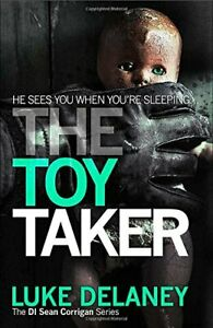 The-Toy-Taker-Di-Sean-Corrigan-3-by-Delaney-Luke-Paperback-Used-Book-Good