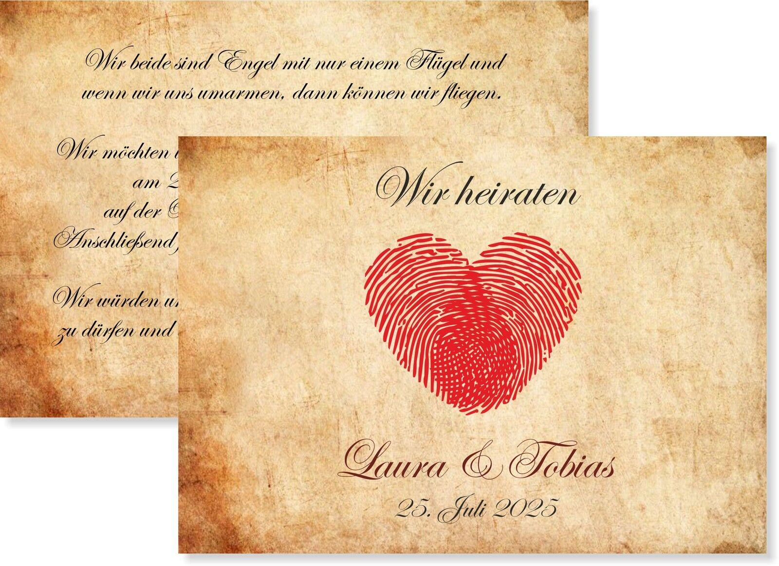 10, 20, 30...Einladungskarten zur Hochzeit • Einladung • Karte   | Rabatt  | Neuartiges Design