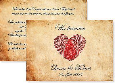 10, 20, 30...Einladungskarten zur Hochzeit • Einladung • Karte