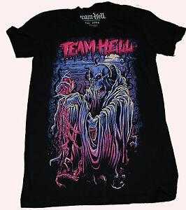 Team-Hell-Guts-Ladie-039-s-T-Shirt-tattoo-punk-emo-Iron-Fist-godmachine