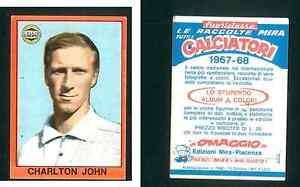 John-Charlton-Inghilterra-RARA-ITALIANO-EDIZIONE-1967-68-CALCIO-EDIZIONI-MIRA-In-buonissima
