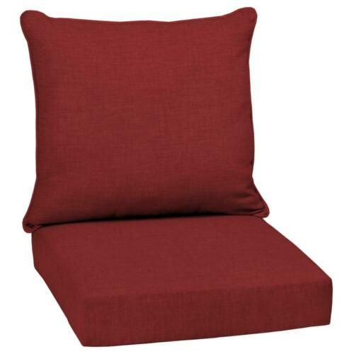 Outdoor Deep Seat Chair Patio Cushions Set Pad UV /& Fade Resistant Furniture 24/""