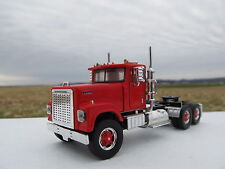 TOP SHELF 1/64 SCALE INTERNATIONAL 4300 DAY CAB RED (SAME SCALE AS DCP)