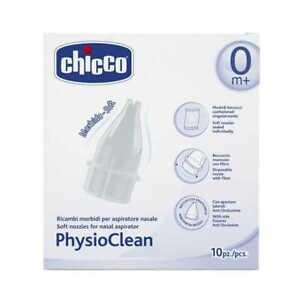 Chicco-PhysioClean-Soft-UGELLI-sigillata-singolarmente-per-aspiratore-nasale