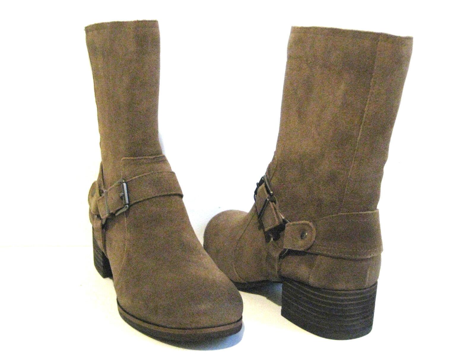 Jessica Simpson annine tabaco Veronica Gamuza botas botas botas Mujer Talla 8 M  compras de moda online