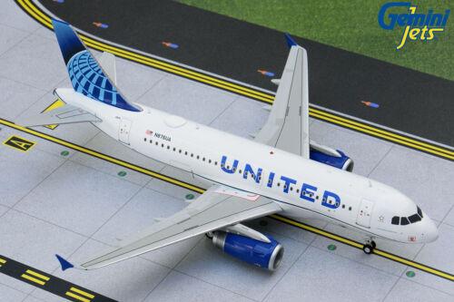 United Airbus A319 N876UA Gemini Jets G2UAL891 Scale 1:200