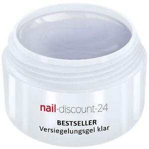 UV-Gel-Versiegelungsgel-klar-5ml-Finish-High-Gloss-Versiegler-Hochglanz-Nail-Art