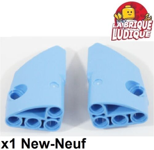 Lego technic Paire Panel Fairing #1 #2 small bleu medium blue 87080 87086 NEUF