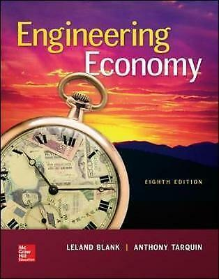 Engineering Economy by Leland T. Blank (Hardback, 2017)