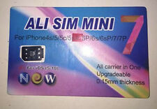 Ali-Sim Card Server Activation for Iphone 4s/5/5c/5s/6/6p/6s/6s/6sp/7/7p