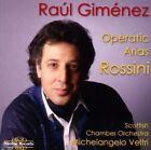 Rossini Gimenez Scottish Chamber Orchestra - Operatic Arias CD