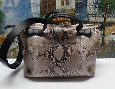 Rag & Bone Aston python-embossed Leather Satchel Bag - $995