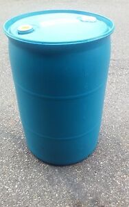 55 Gallon Plastic Drum Barrels Ebay