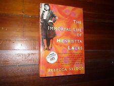 The Immortal Life of Henrietta Lacks Rebecca Skloot Signed Hardcover